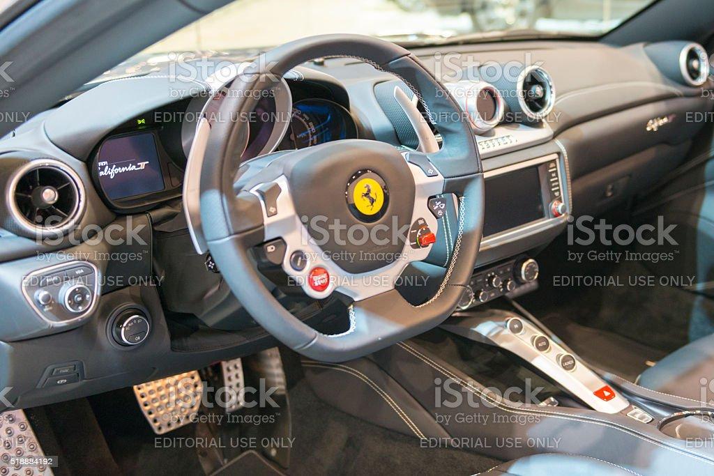 Ferrari California Dashboard Stock Photo More Pictures Of 2016