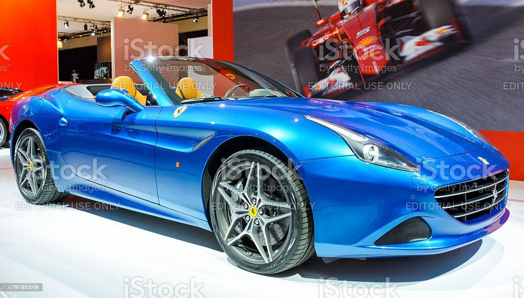 Ferrari California T Convertible Sports Car Stock Photo Download Image Now Istock