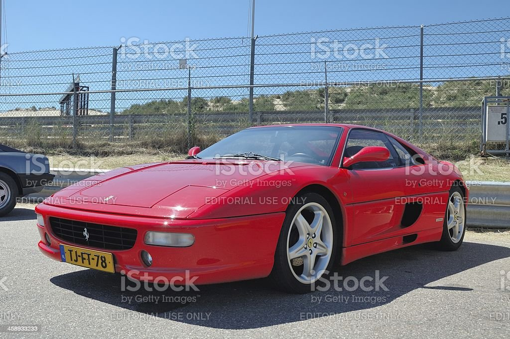 Ferrari F355 stock photo