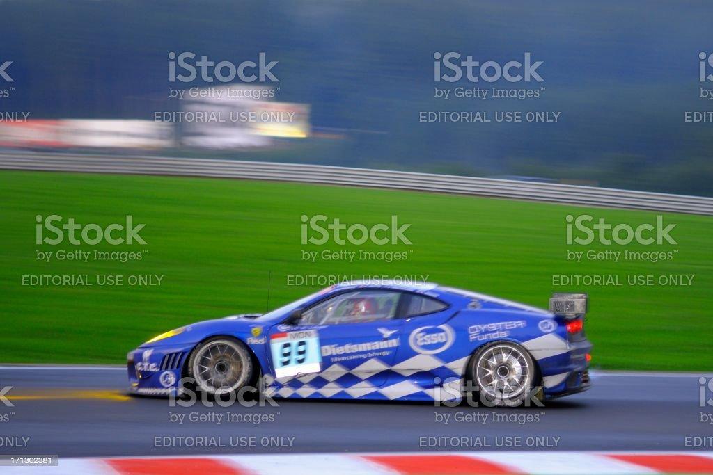 Ferrari F430 GT2 stock photo