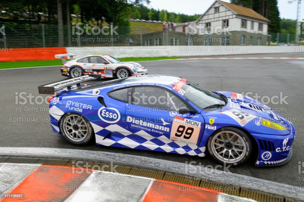 Ferrari F430 GT2 race car royalty-free stock photo
