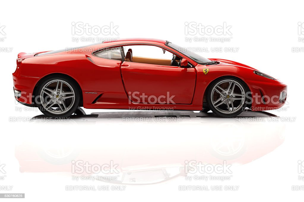 ferrari F430 stock photo