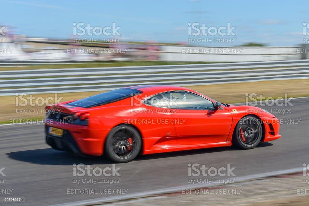 Zandvoort, The Netherlands - June 29, 2014: Ferrari F430 Scuderia...