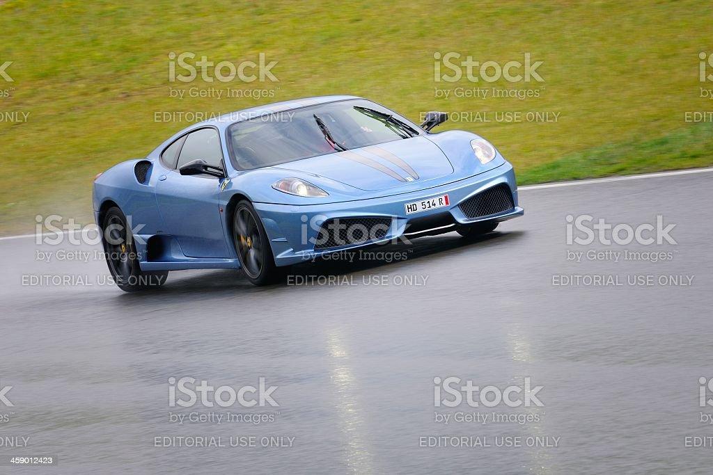 Ferrari F430 Scuderia royalty-free stock photo