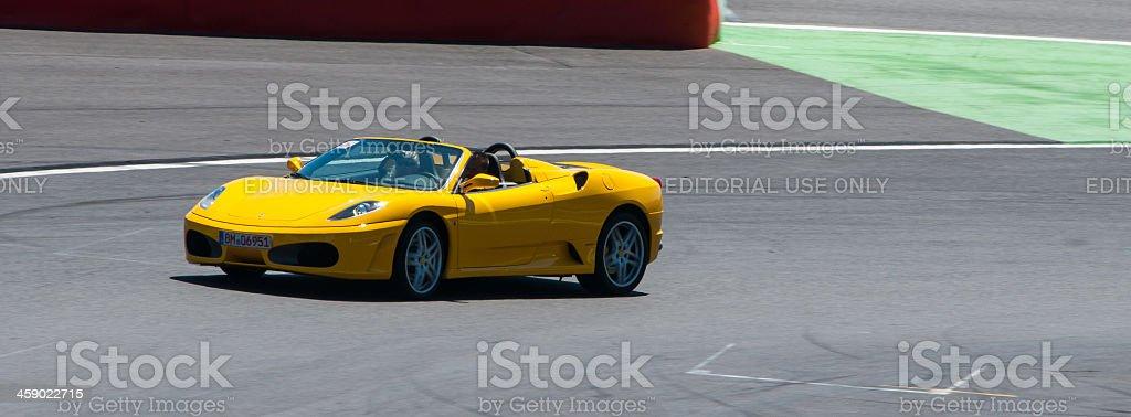 Ferrari F430 spider royalty-free stock photo