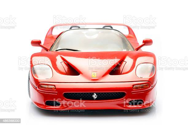 Ferrari F50 Supercar Scale Model Front View Stock Photo Download Image Now Istock