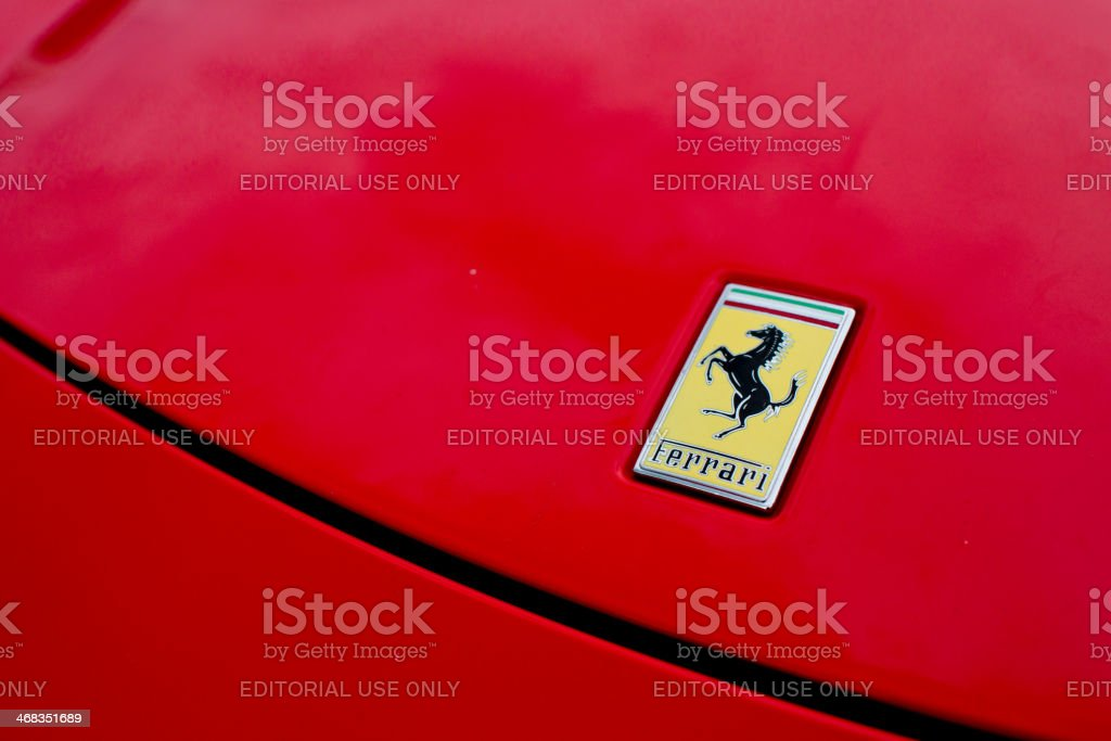 Ferrari - Florence, Italy royalty-free stock photo