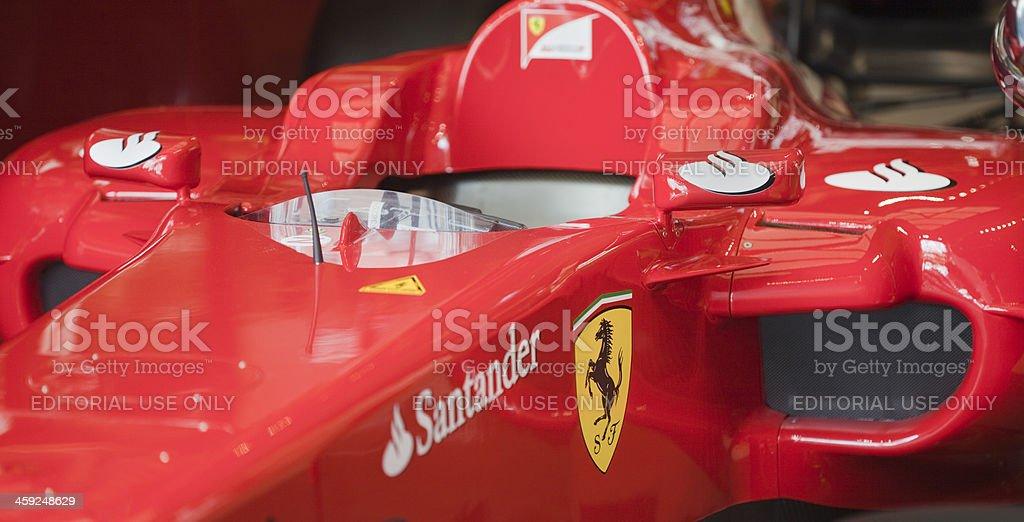 Ferrari Fórmula 1 - foto de stock