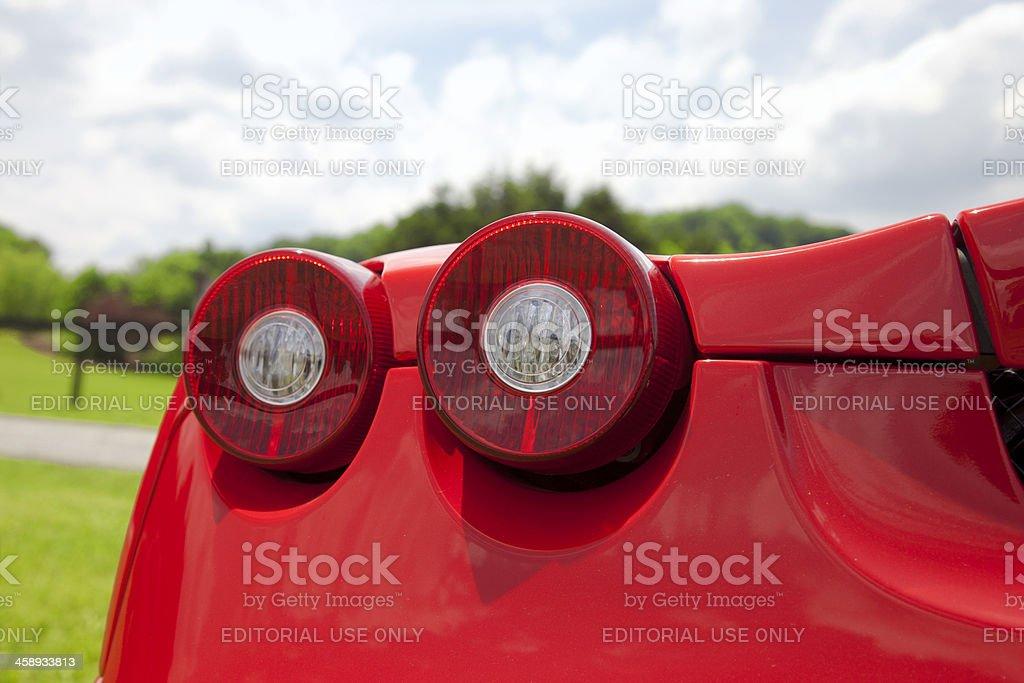 Ferrari Tail Light stock photo