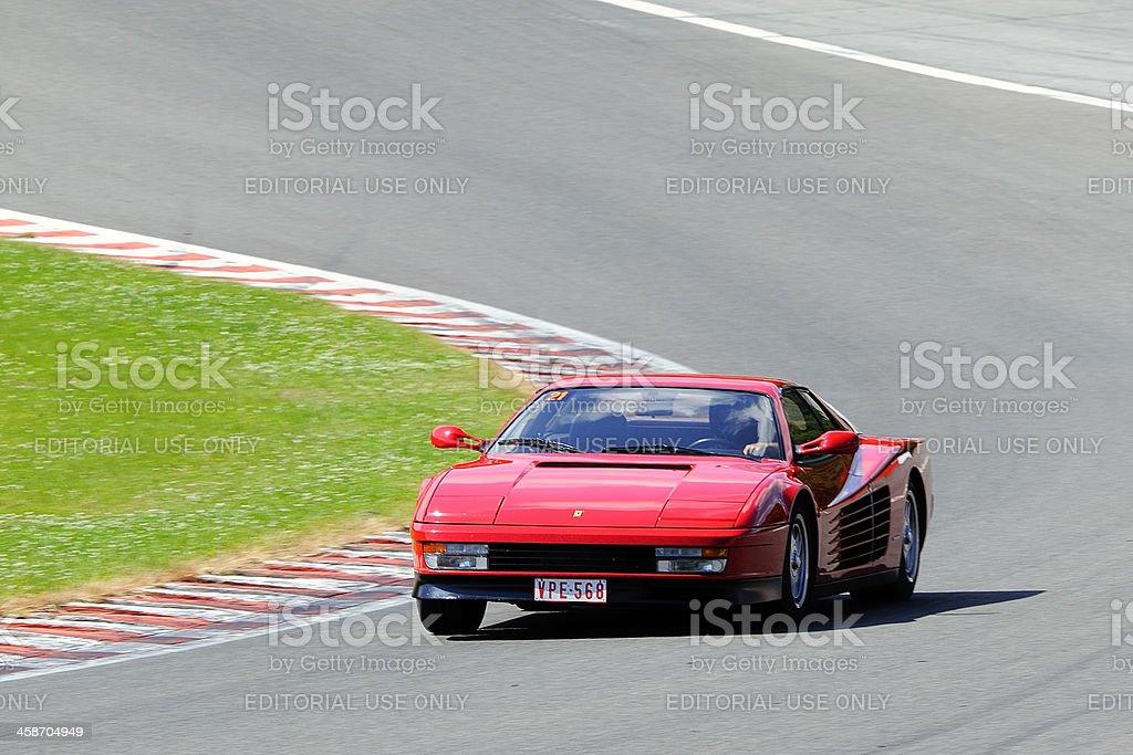 Ferrari Testarossa stock photo