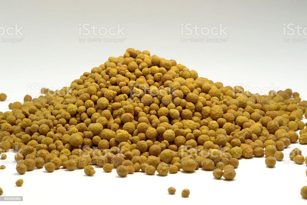 Cloruro férrico bolas en la parte posterior foto de stock libre de derechos