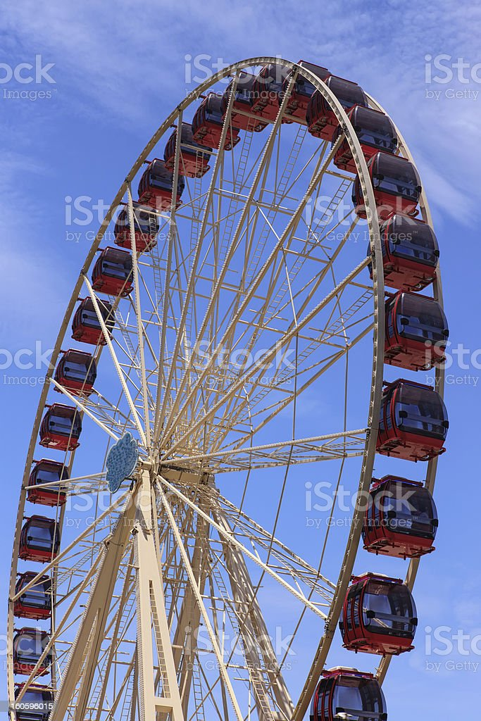 Ferries Wheel royalty-free stock photo