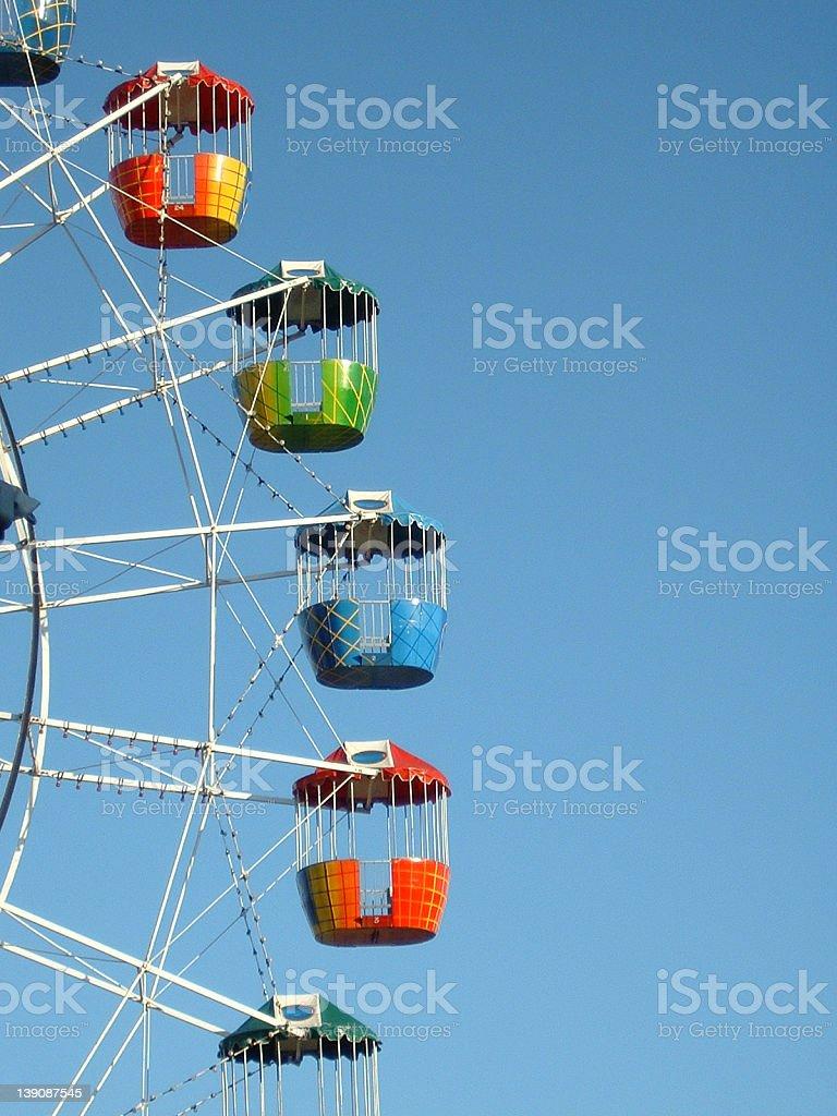 Ferris Wheel 2 royalty-free stock photo
