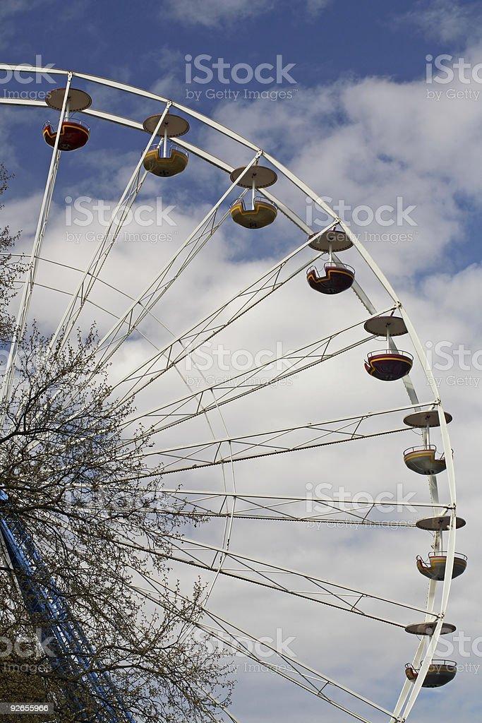 Ferris wheel 3 royalty-free stock photo