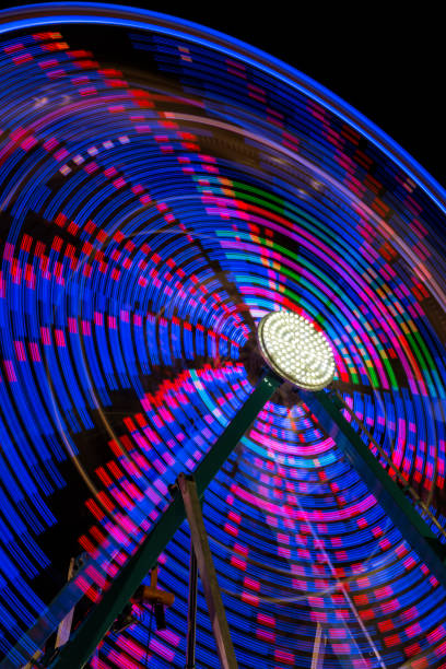 Ferris Wheel Abstract stock photo