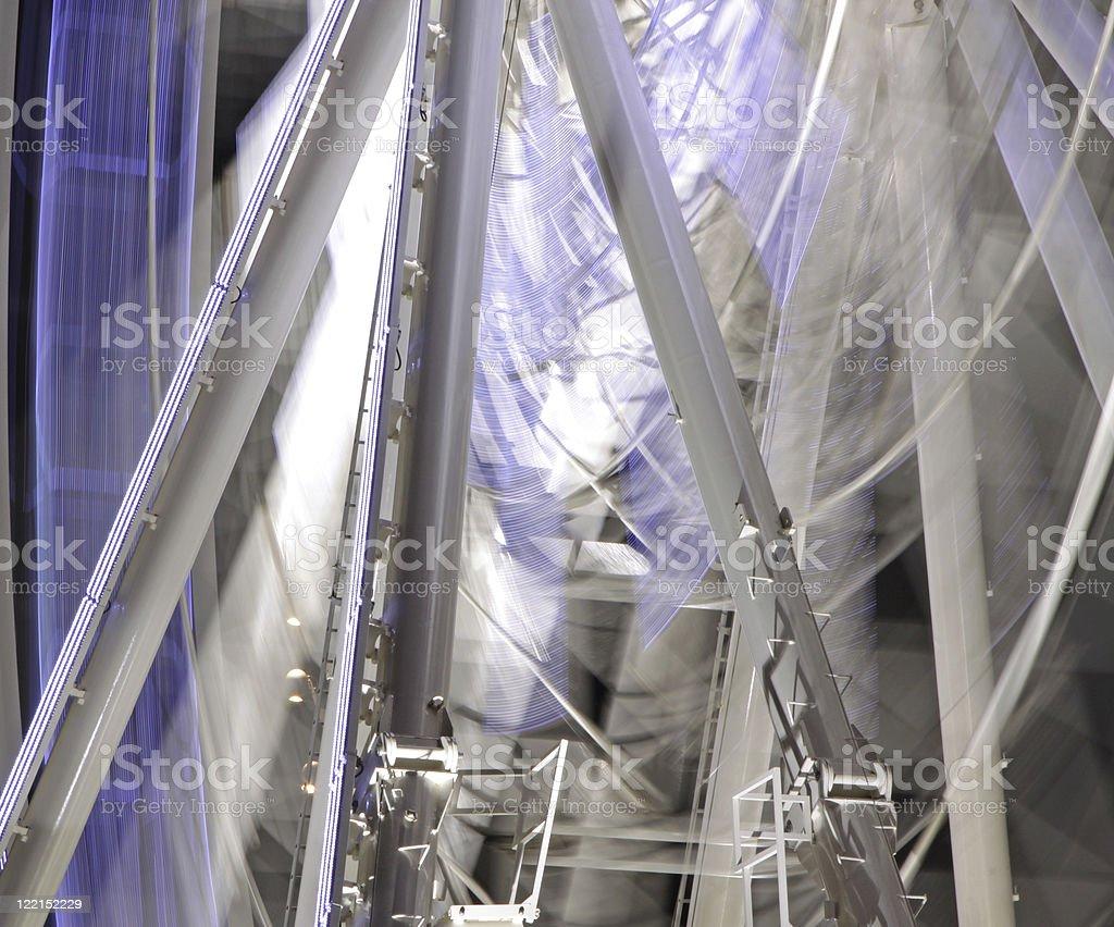 ferris wheel abstract royalty-free stock photo
