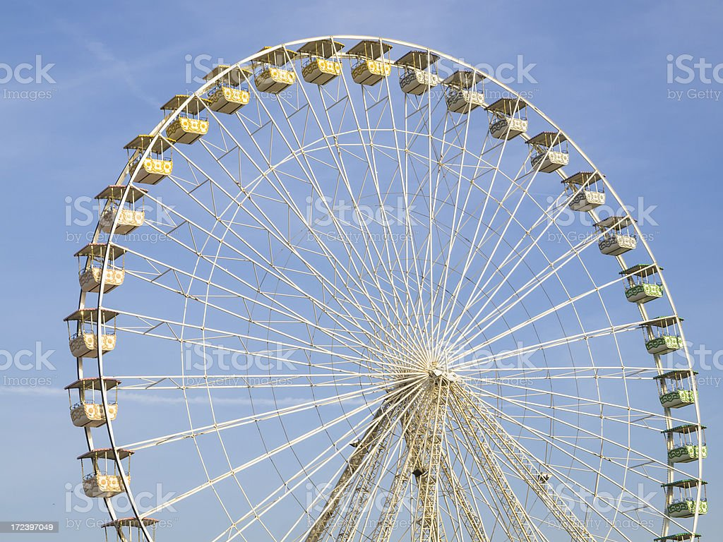 Ferris Wheel  Amusement Park Ride royalty-free stock photo