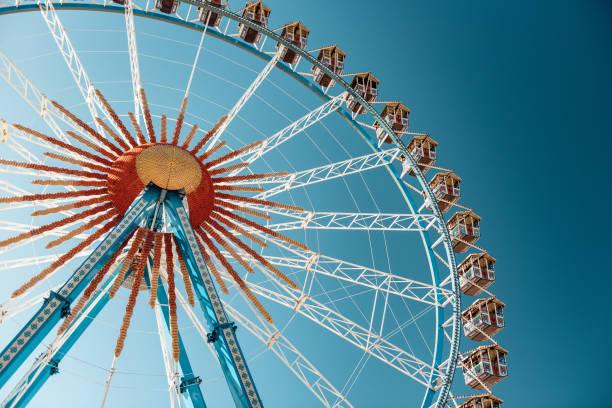 Riesenrad auf dem Münchner Oktoberfest – Foto