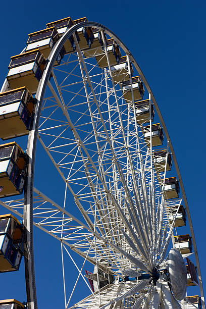 Ferris Wheel at the County Fair stock photo