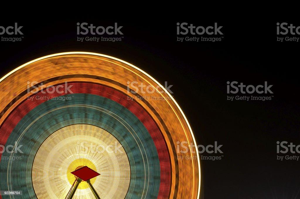 Ferris Wheel Background royalty-free stock photo