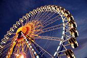 Ferris wheel 作の夜