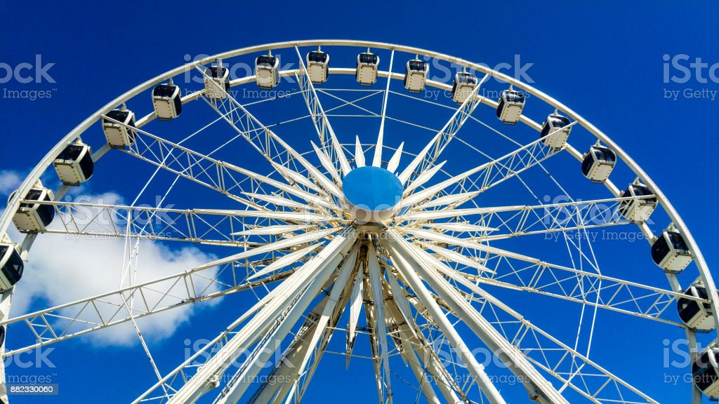 Ferris Wheel, Cape Town, South Africa stock photo
