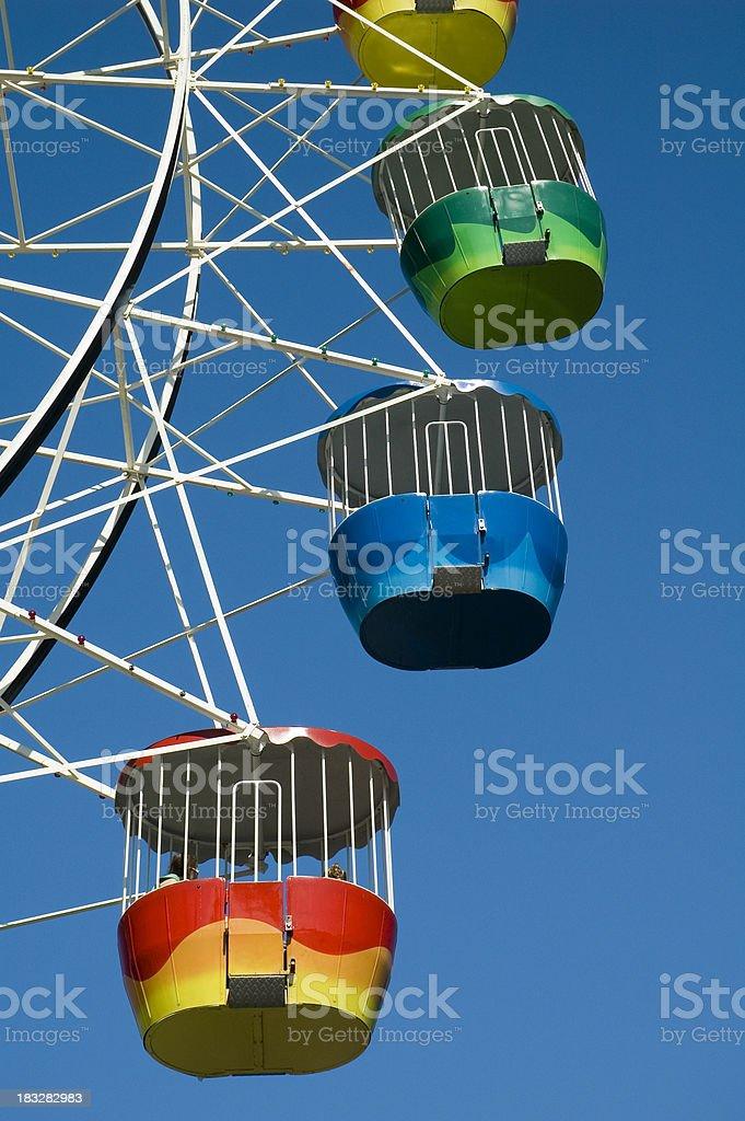 Ferris Wheel Cars royalty-free stock photo