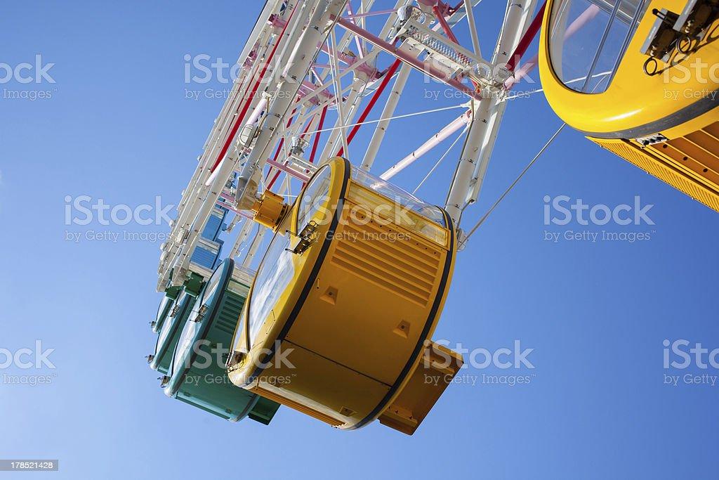Ferris Wheel Close Up royalty-free stock photo