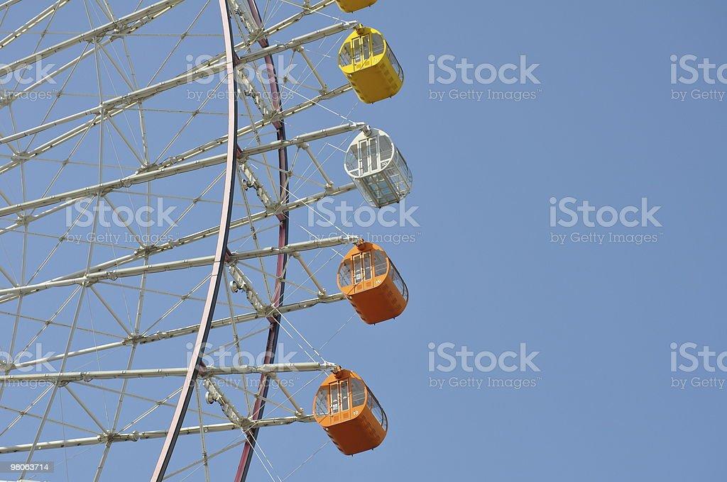 Ferris wheel detail royalty-free stock photo