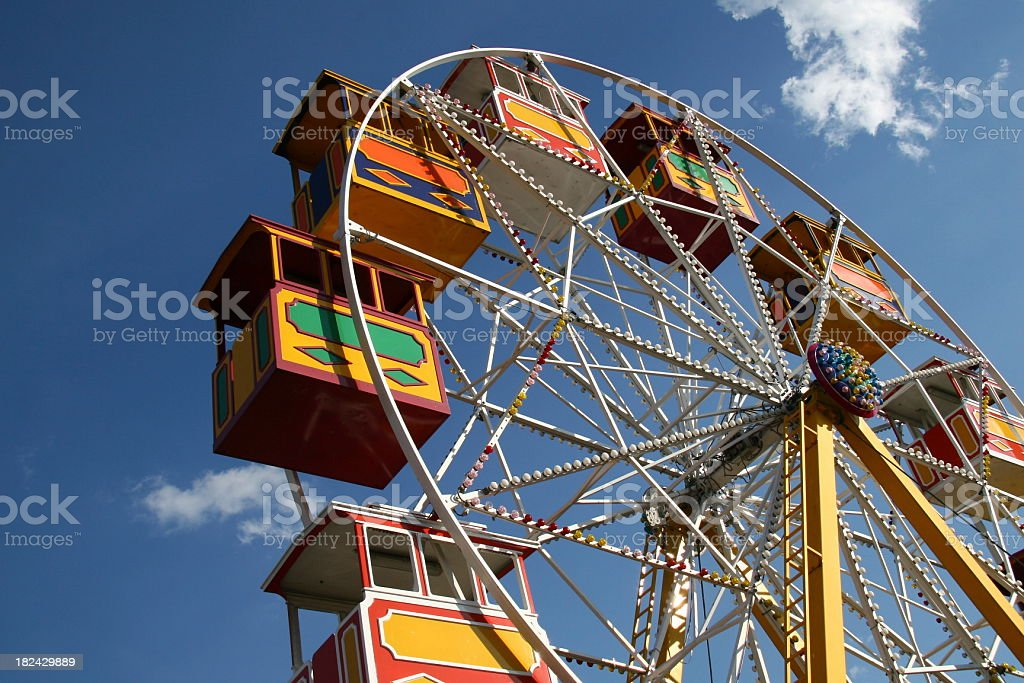 Ferris Wheel in Austria (Vienna) royalty-free stock photo