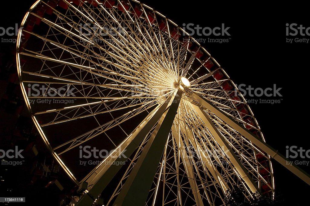 Ferris Wheel in Chicago royalty-free stock photo