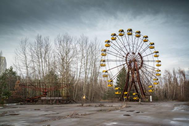 Riesenrad in Pripyat – Foto