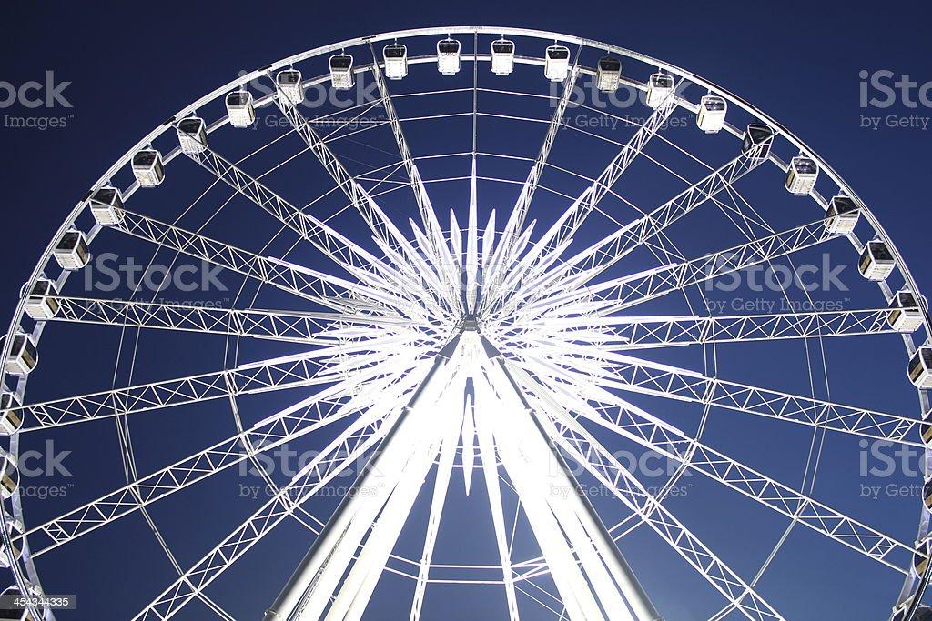 Ferris wheel in Thailand. royalty-free stock photo
