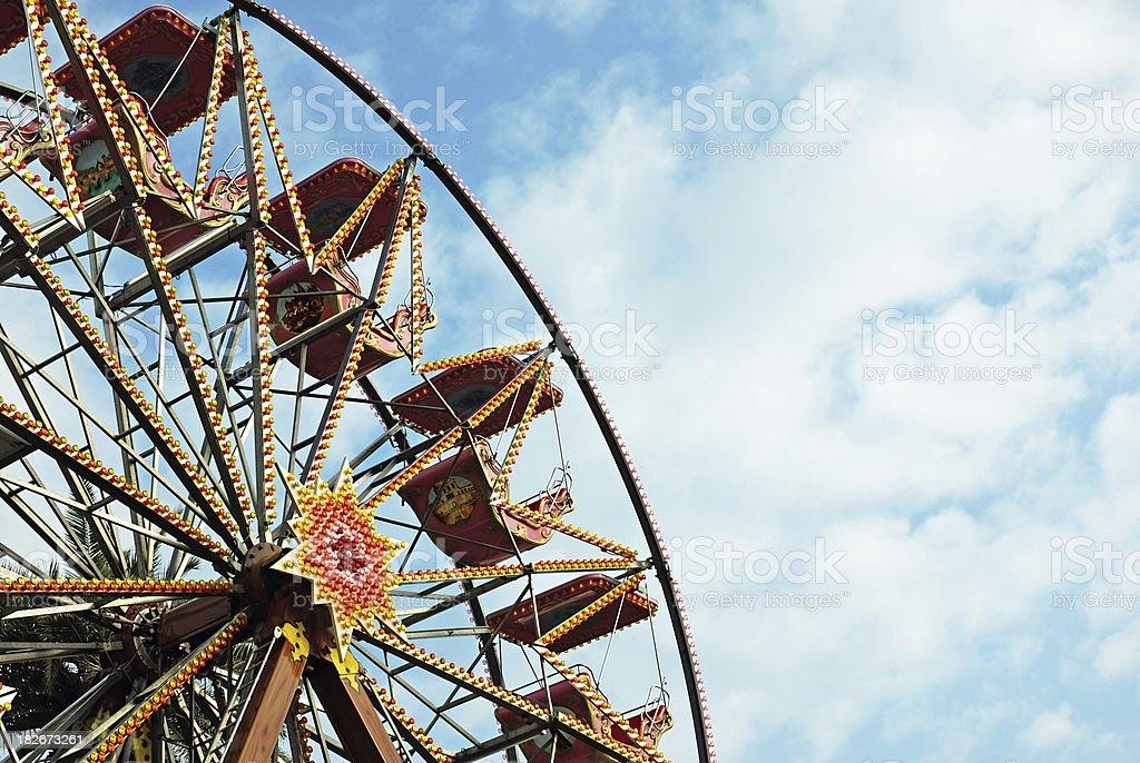 Ferris Wheel, Luna Park royalty-free stock photo
