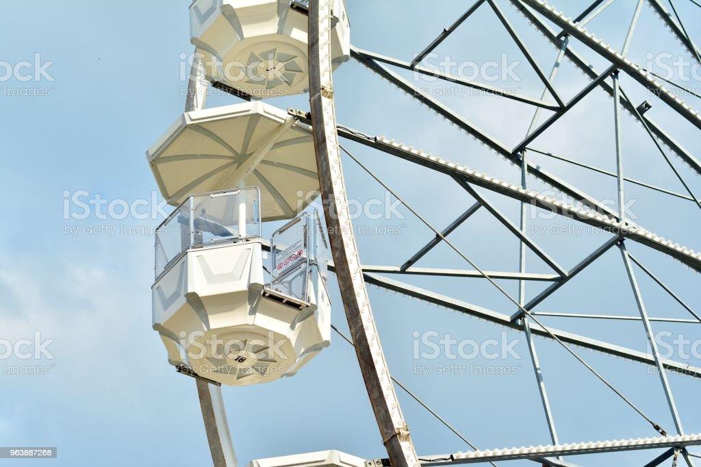 Ferris Wheel over blue sky - Royalty-free Anniversary Stock Photo