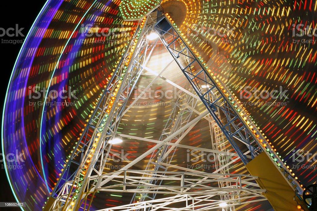 Ferris wheel stock photo