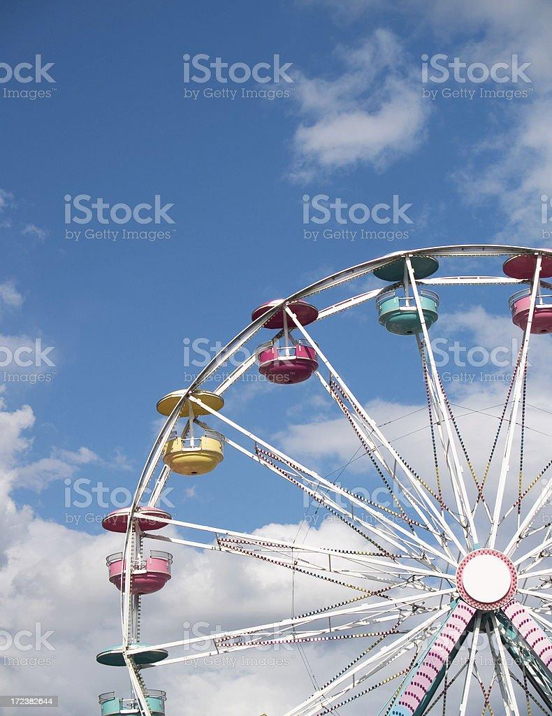 Ferris Wheel (Portrait) royalty-free stock photo