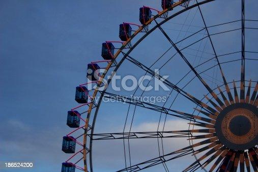 Ferris Wheel Stock Photo & More Pictures of Amusement Park Ride