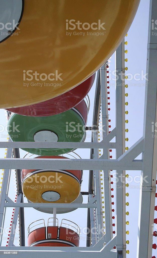 Ferris wheel royaltyfri bildbanksbilder