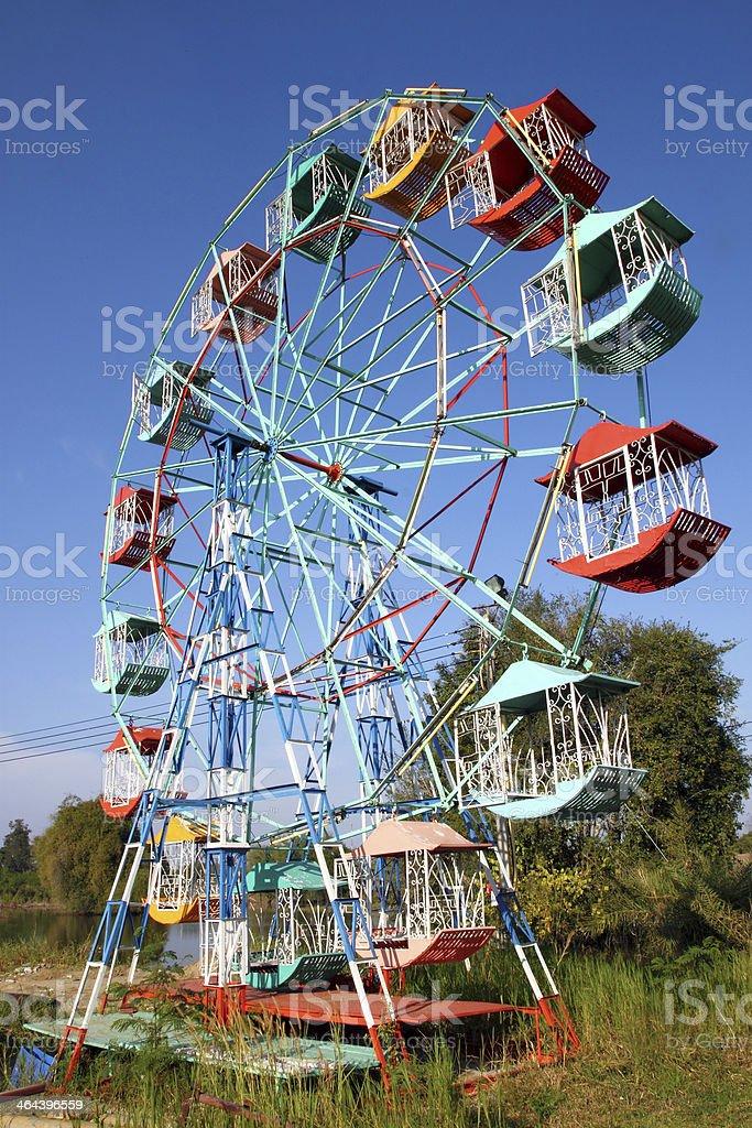 Ferris wheel Player royalty-free stock photo