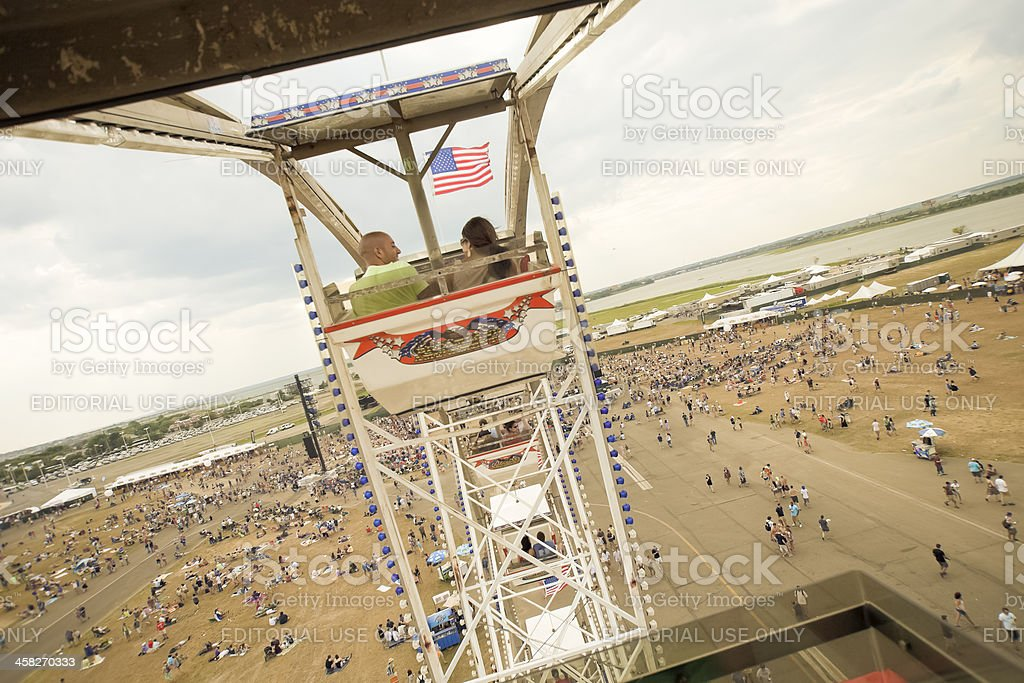 Ferris Wheel Ride royalty-free stock photo