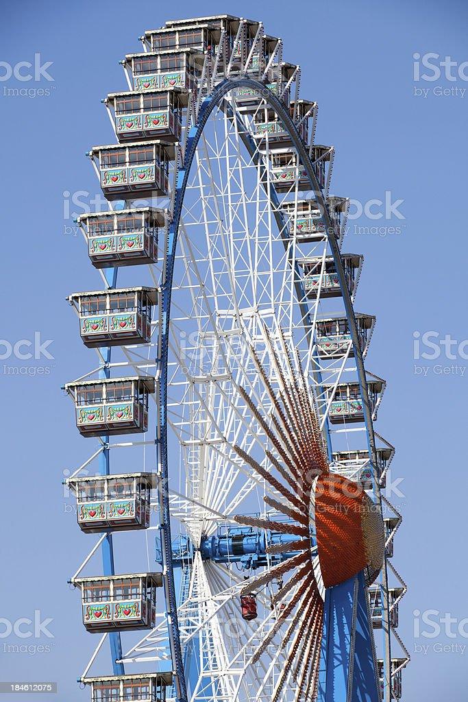 Ferris wheel - Riesenrad stock photo