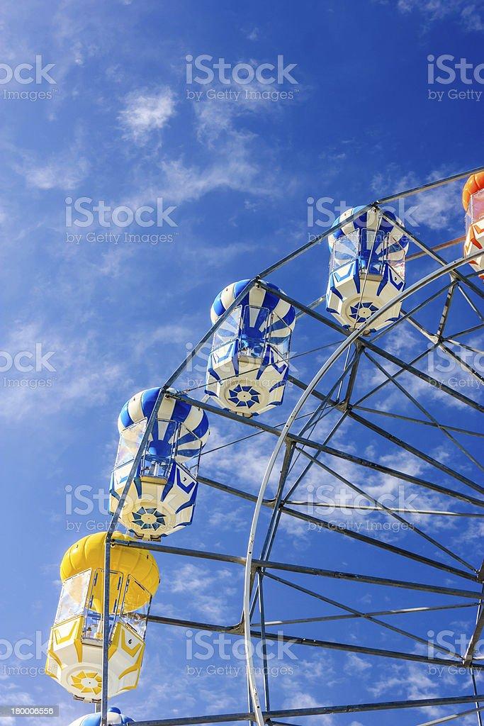 대관람차 blue sky royalty-free 스톡 사진