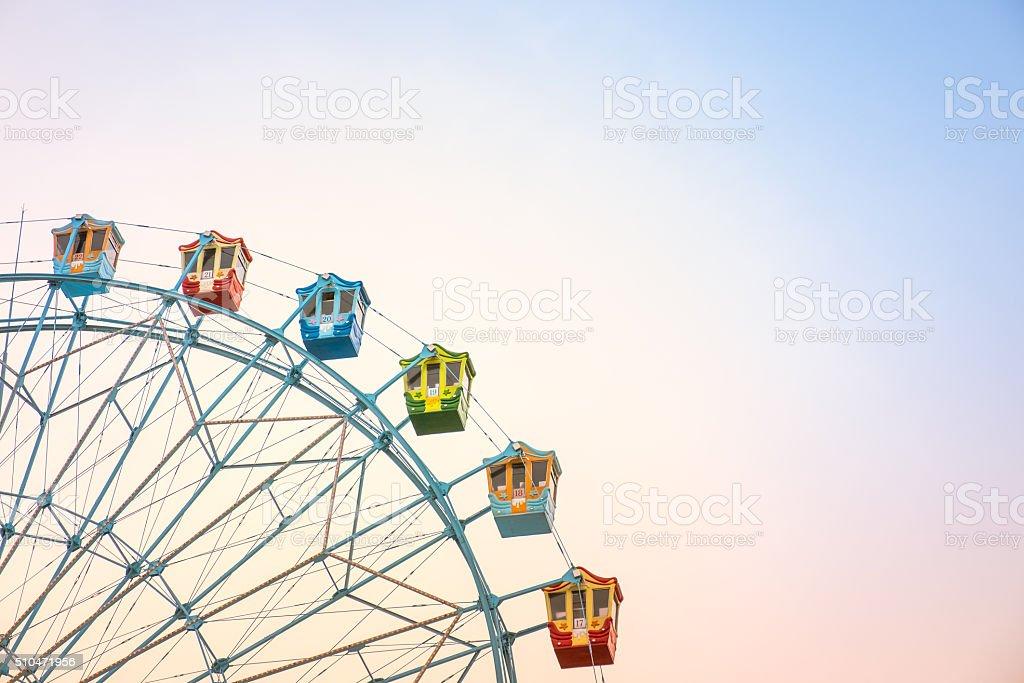 Ferriswheel stock photo