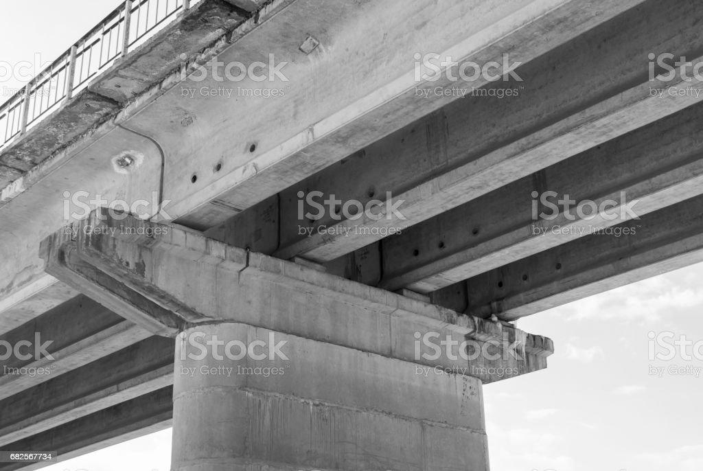 ferroconcrete support stock photo
