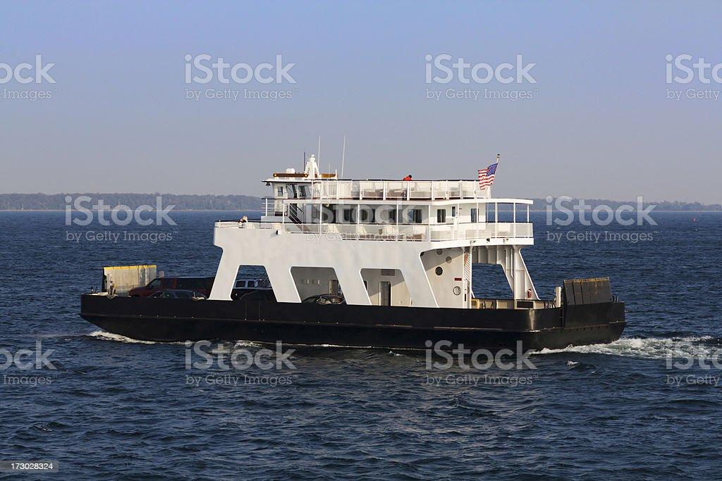 Ferry Across royalty-free stock photo