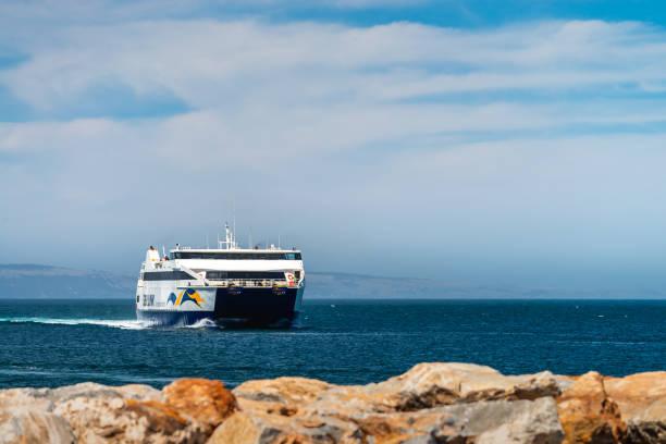 Fähre am Terminal Cape Jervis SeaLink – Foto