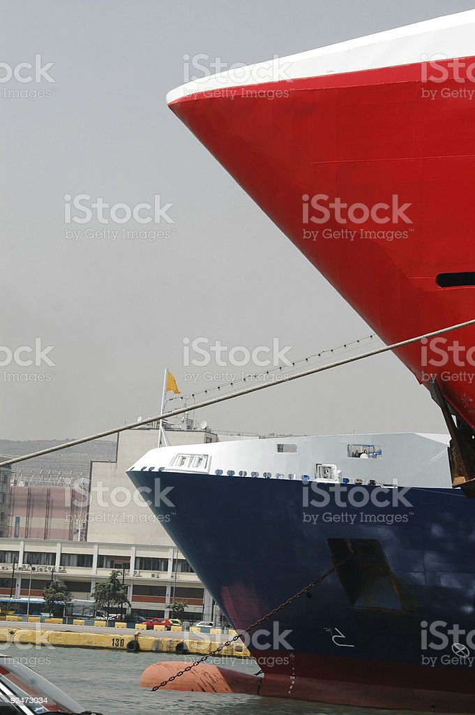 ferry boats royalty-free stock photo