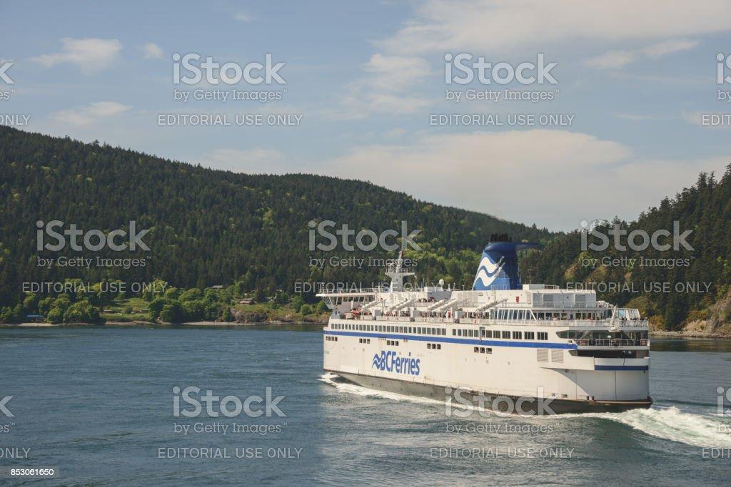 BC Ferry company stock photo