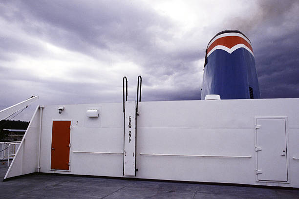 Ferry Deck, British Columbia